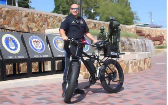 170923 branson police bike  - Branson Police Receive New Patrol Bicycle