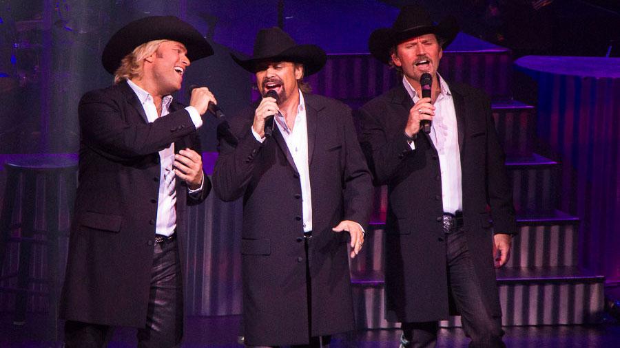 The Texas Tenors Performing in Branson Missouri
