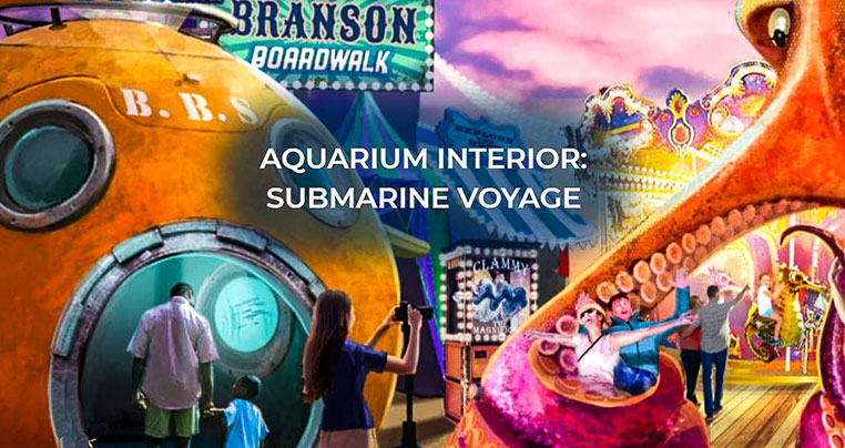 Branson Missouri Aquarium Interior: Submarine Voyage