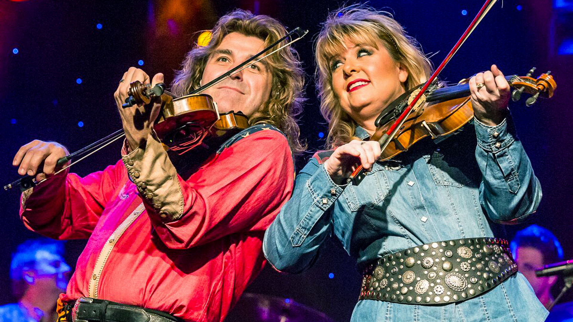190213 Down Home Country Wayne Melody Fiddles - Wayne Massengale and Melody Hart - Branson's Fiddling Sweethearts