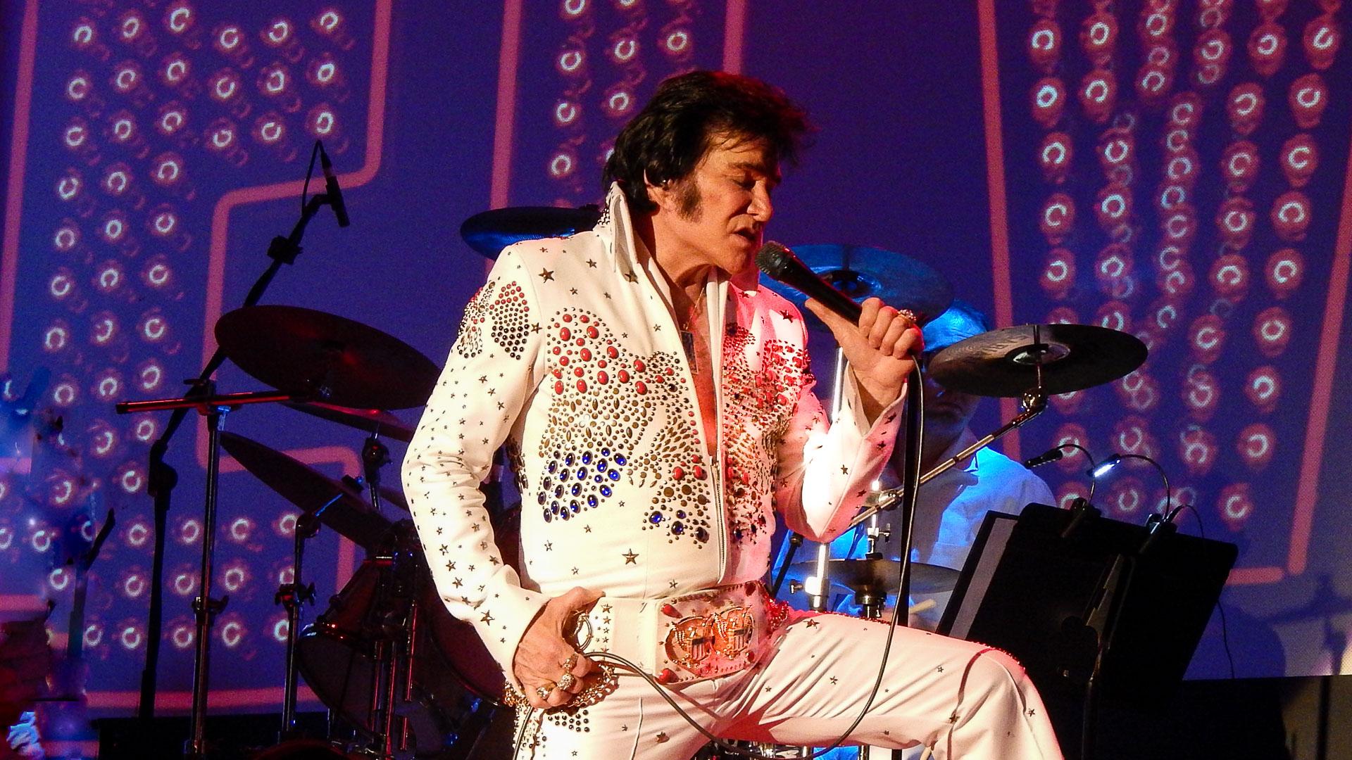 190320 Jerry Pressley White Suite Edit - Jerry Presley sings his cousin Elvis' hits