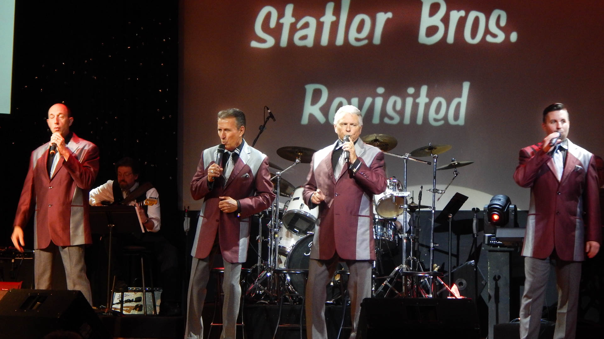 190505 Statler Brothers Revisited Gro - Hear those Statler Brothers hit songs at the God and Country Theatre