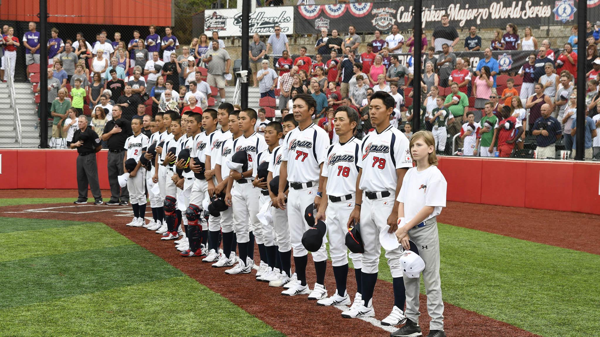 190510 Cal Ripken World Series Ball Parks American Japan Pre Game NOP - Ballparks of America will host Cal Ripken World Series through 2022