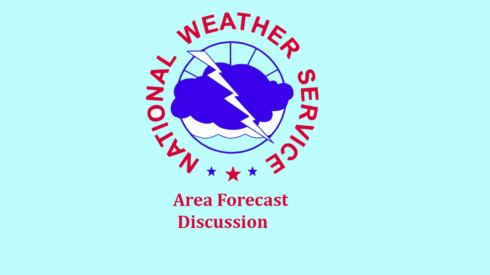 "210212 US National Weather Service Area Discussion Logo - National Weather Service forecasts a ""prolonged cold period"" through Feb. 18"